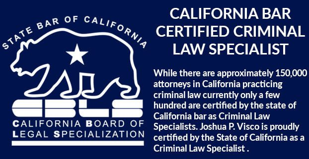 Certified California Criminal Law Specialist